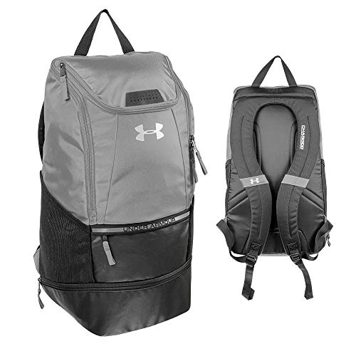 Under Armour Striker2 Soccer Backpack, Graphite, Large