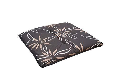 Kettler - Cuscino per sgabello, colore: Grigio/Bianco