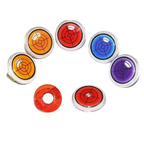 popchilli 2 Stücke Nützliche Golf Piste Putting Level Lesen Ball Marker Hut Clip Leistungsstarke Und Genaue Messwerte Für Outdoor-Sportarten