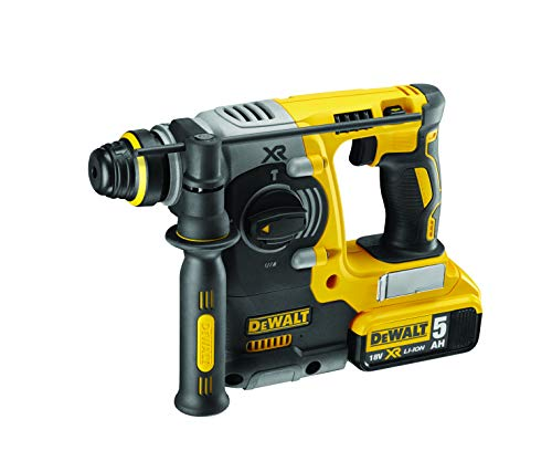 Dewalt DCH273N 18V XR Li-Ion SDS Plus Rotary Hammer Drill, 18 W, 18 V, Yellow/Black