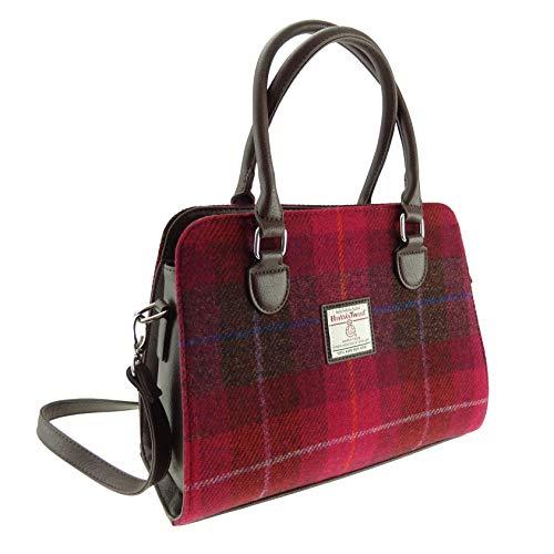 Damen Original Schottische Harris Tweed Midi Tragetasche Findhorn Tasche Erhältlich in...
