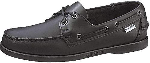 Sebago Docksides, Nauticos Hombre, Negro (Black Leather), 43.5 EU