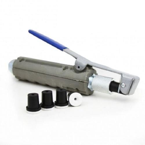 Abrasive Blaster Sandblaster Nozzle Gun w/ 4 Ceramic Tips Dead-Man Nozzl