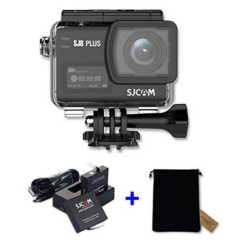 SJ CAM WiFi Onderwater Camera Duiken Actie Camera met High-end Chips en Sensoren, Waterdichte Sport Camcorder met Dual Charger, Extra Batterij en Tas