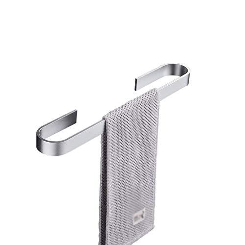 SMEJS Toallero, soporte para toallas de mano, aluminio, accesorios de baño, accesorio de baño, estilo contemporáneo montado en la pared (tamaño: 45 cm)