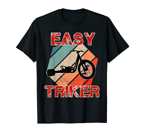 Retro Trike Dreirad Biker Vintage Trike bike Kinder Dreirad T-Shirt