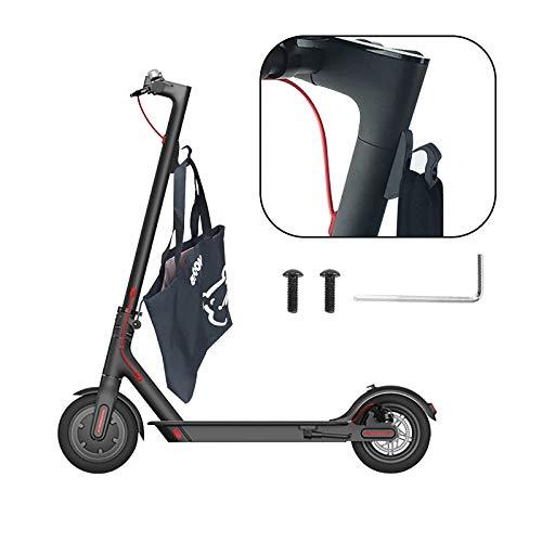 OurLeeme Ganchos delanteros para patinetes eléctricos, ganchos delanteros para patinete, ganchos frontales de nailon de alta densidad, impermeables, para ruedas de bicicleta