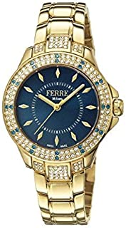 Ferre Milano Swiss Made Women's FM1L067M0071 Swiss Quartz Gold Bracelet Watch