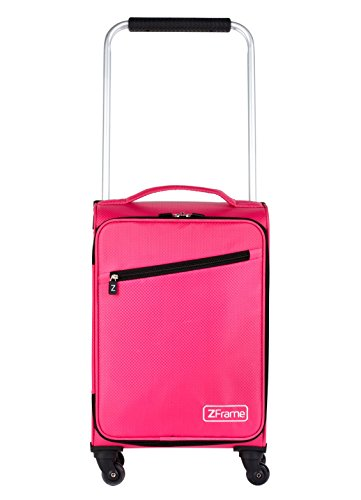 ZFrame LG22283718PK 18' Pink Super Lightweight Suitcase with 10 Year Warranty