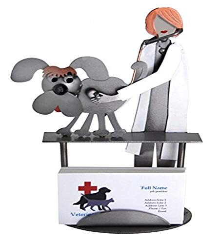 This cute card holder is perfect for graduating veterinarians.