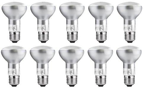 10x KHL E27 R63 Reflektor Reflektorlampe 75W 75 Watt matt 650 Lumen