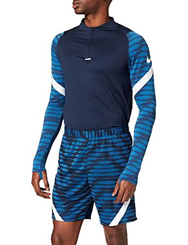 NIKE Pantalones Cortos de fútbol para Hombre. Obsidian/Royal Blue/White/White XL