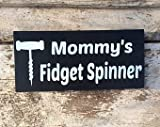 NOT BRANDED Fidget Spinner Wine Bottle Opener Funny Wine Signs Wall Decor, Wine Gifts for Women, mom Gift from Daughter, Mother in Law Gift, Home bar