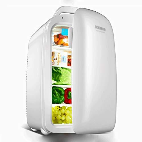 BYZHP Mini Nevera Mini Refrigerador Mini refrigerador 28L refrigerador refrigerador más Caliente frigorífico 5 Niveles de diseño Tranquilo para el Dormitorio de la Oficina en casa (Color : White)