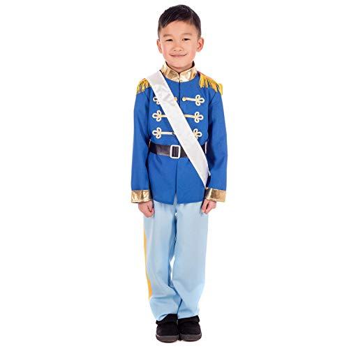 Leuke Shack FNK4650S kostuum, Jongens, Prins charmant, Klein