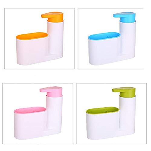 Keuken- en badkamerapparatuur Multifunctioneel opbergvak Gootsteen Zeep Wasmiddel Wasmiddel Handdesinfecterend-groen