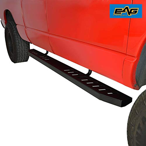 "EAG 80"" Raptor Side Bars W/Brackets Fit for 02-08 Ram 1500/2500 Regular Cab 1500 Quad Cab 03-09 Ram 2500/3500 Quad Cab"