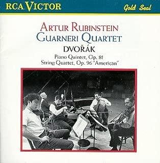 Dvorak: Piano Quintet Op. 81 / String Quartet Op. 96