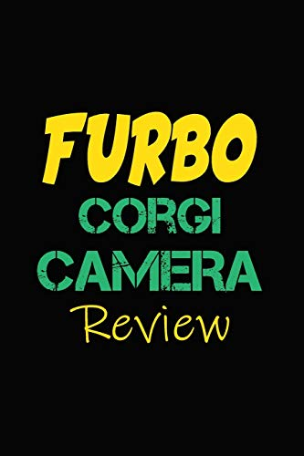 Furbo Corgi Camera Review: Blank Lined Journal for Dog Lovers, Dog Mom, Dog Dad and Pet Owners