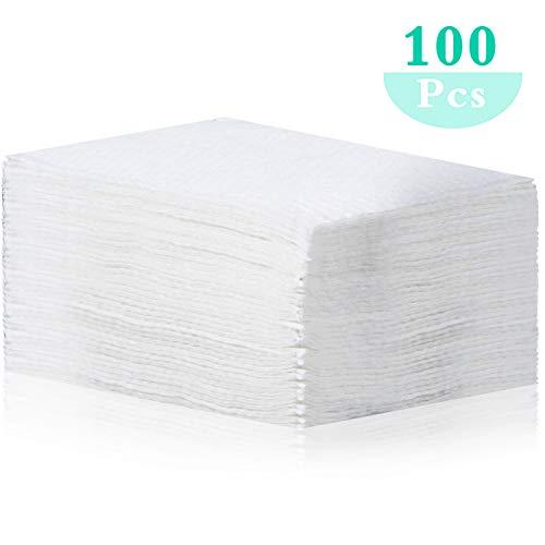 100 Piezas Filtros Desechables Almohadillas de Reemplazo 12 x 9 cm para Mayoría Filtros de Tamaño Igual