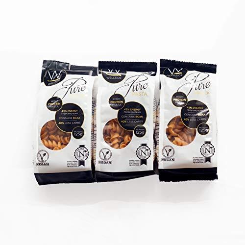 Wellside Pure Pasta 3 x 125g Packs