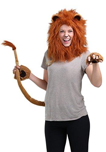 Deluxe Adult Lion Costume Kit Standard