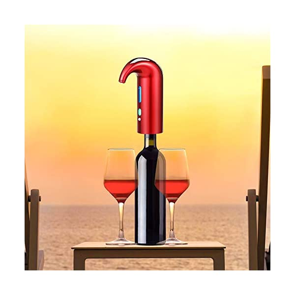 VESSTT Aireador de Vino Dispensador de Aireador y Vino Tinto Dispensador