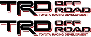 Toyota TRD Off Road 4x4 Compatible with Toyota Tacoma Tundra Sticker Decal 01