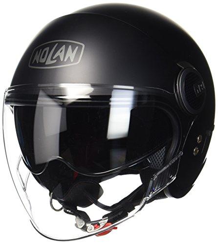 Nolan N21-Visor Classic Jethelm, Farbe matt-schwarz, Größe M (57/58)