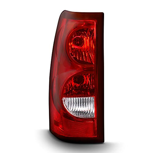 ACANII - For 2003-2006 Chevy Silverado Rear Replacement Tail Light covid 19 (Driver Side Chevrolet coronavirus)