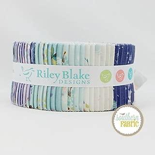 Riley Blake Neverland Jelly Roll (40 pcs) - Jill Howarth 2.5 x 44 inches (6.35cm x 111.76cm) Fabric Strips DIY Quilt Fabric