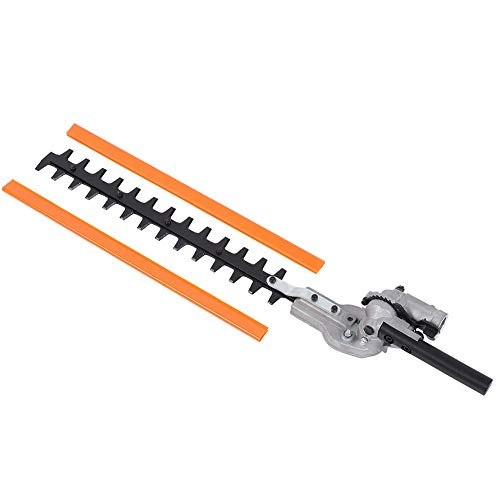Best Bargain TOPINCN Garden Hedge Trimmer Cutter 9 Teeth Universal Hedge Brush Tool 26mm 9 Gearbox f...