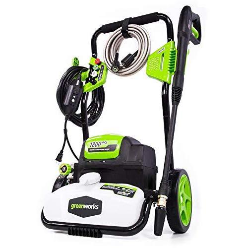 Best greenworks 1800 psi pressure washer