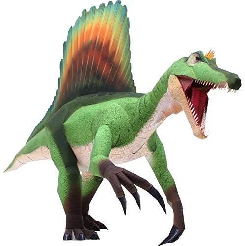 FRETE GRATIS Quebra Cabeça 3D de Dinossauro de Colagem Papercraft Espinossauro - HAS BRASIL