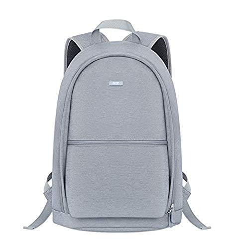 BUBM Laptop Notebook Bag Unisex Travel Backpack Waterproof Leisure Backpack (Gray)