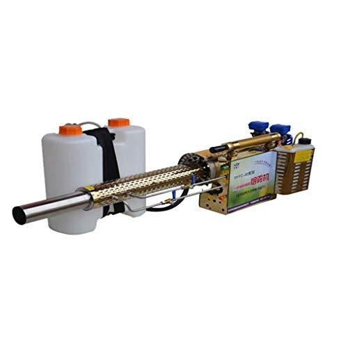 AMITD Thermische rookmachine, tuin- en multifunctionele spuit, roestvrij staal, anti-vervorming, voor het doden van onkruid in gazons en tuinen