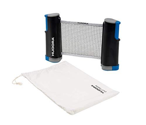 HUDORA Unisex– Erwachsene Tischtennisnetz Portable, One Size