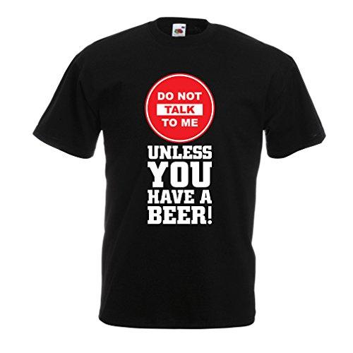 lepni.me Camisetas Hombre ¡Citas de los Amantes de la Cerveza! Ideas Divertidas del Regalo del Alcohol, Ropa para la Fiesta, Camisas para Beber, Pub, refrán del Bar (XXX-Large Negro Multicolor)