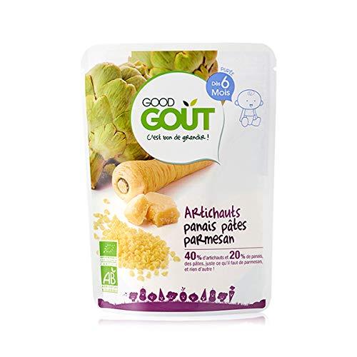 Good Goût - BIO - Artichaut Panais Pâtes Parmesan dès 6 Mois 190 g