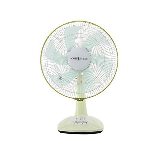 Multi-rendimiento del ventilador eléctrico, simple uso en el hogar turística del ventilador 3 velocidades del aire del ventilador de refrigeración Rotativa vertical Ventilador red de seguridad Grille