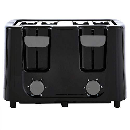 Continental Electric CE-TT029 Toaster, 4 Slice, Black