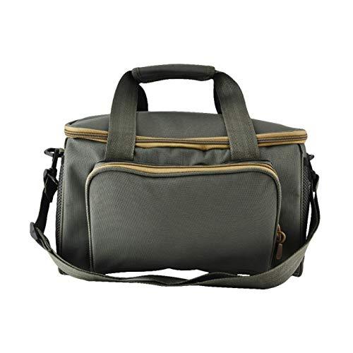 DAUERHAFT Single Shoulder Bag Fototasche Tragbar, zum Angeln, Reisen(ArmyGreen)