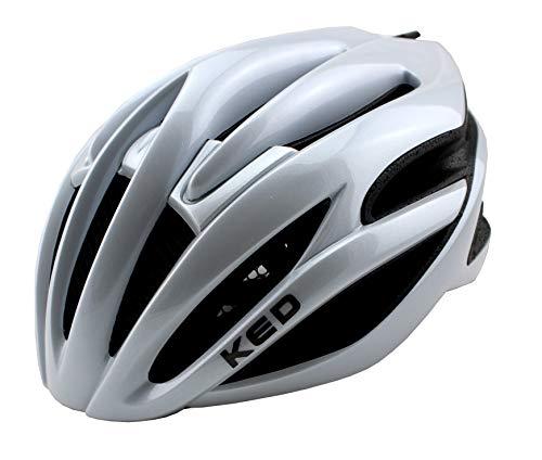 KED Wayron Fietshelm voor jongeren en volwassenen, allround helm in robuuste maxSHELL-technologie, Quicksafe- en QuickStop-systeem, extreem goede ventilatie, gering gewicht, perfecte pasvorm