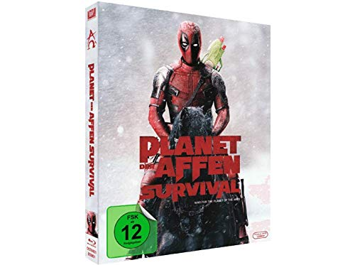 Planet der Affen Survival - Exklusiv Limited Deadpool Schuber Edition - Blu-ray