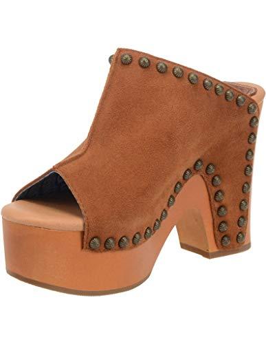 Dingo Womens Peace N' Love Platform Sandals Sandals Casual - Brown - Size 9 M