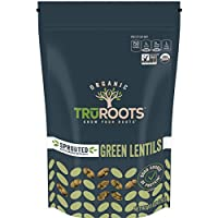 6-Pack TruRoots Organic Sprouted Green Lentils 10-Ounce Pouches