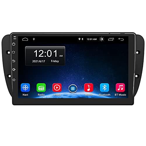 AWESAFE [Android 10.0 2GB+32GB] 9 Pulgadas Radio Coche para Seat Ibiza 2009-2013, Autoradio con Pantalla Táctil, con WiFi GPS Bluetooth DSP RDS USB FM Am RCA, Apoyo Mandos del Volante, Aparcamiento
