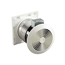 Budget Choice for Best Garage Exhaust Fan: Broan-Nutone 6-inch Through-the-Wall Ventilation Fan