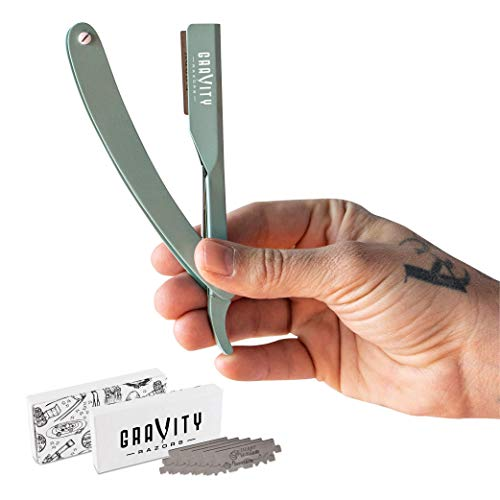 Barber Shaver Disposable Blade Straight Razor sliding shaft knives COLOR CHOICE