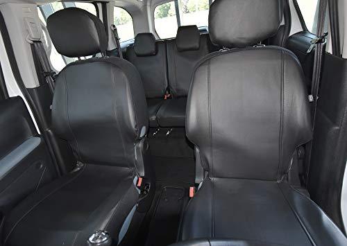 Sitzbezüge VIP Passgenau geeignet für Citroen BERLINGO II ab 2008 EIN Set